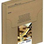 Encre d'origine EPSON C13T16264012 Multipack Stylo Plume T1626 : cartouches Noir, Cyan, Magenta et Jaune de la marque Epson image 1 produit