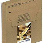 Encre d'origine EPSON C13T16264510 Multipack Stylo Plume T1626 : cartouches Noir, Cyan, Magenta et Jaune [Emballage « Déballer sans s'énerver par Amazon »] de la marque Epson image 1 produit
