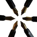 Ensemble Calligraphie 14 Pièces Stylos à Encre avec 6 Plumes et Cartouches par Kurtzy - Kit pour l'Écriture Calligraphique - Ensemble Complet pour les Débutants - Étui de Rangement Inclut de la marque Kurtzy image 2 produit