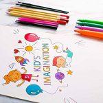 Ensemble d'Artiste 258 pièces Creativity Art Set pour enfants dessin et peinture (aquarelle, crayons, marqueurs de couleur, crayons de couleur) de la marque Ccfoud image 4 produit