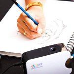 Ensemble de crayons de couleur (26 pièces) pour dessin et croquis - Bâtons de graphite et de charbon de bois de très haute qualité - Gommes à effacer et aiguisoirs, idéal pour les travaux scolaires et professionnels. de la marque Colore image 1 produit
