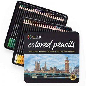 ensemble de crayons de couleur TOP 2 image 0 produit