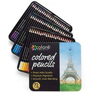 ensemble de crayons de couleur TOP 3 image 0 produit