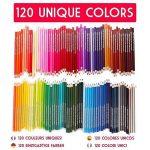 ensemble de crayons de couleur TOP 5 image 1 produit