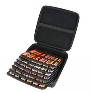 Étui de Voyage Rigide Housse Cas pour Sanford Prismacolor Premier crayons de couleur en bois par co2CREA, Convient jusqu'à 154 emplacements de la marque co2CREA image 0 produit