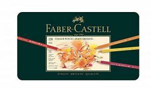 Faber-Castell 110011 Crayon Polychromos boîte métal de 120 pièces de la marque Faber-Castell image 0 produit