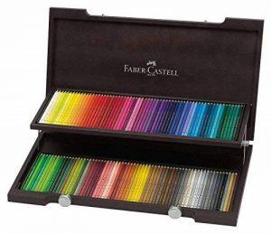 Faber-Castell 110013 Crayon de couleur Polychromos coffret bois de 120 pièces de la marque Faber-Castell image 0 produit