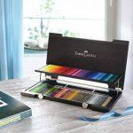 Faber-Castell 110013 Crayon de couleur Polychromos coffret bois de 120 pièces de la marque Faber-Castell image 1 produit