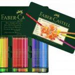 Faber-Castell 110060 Crayon de couleur Polychromos boîte métal de 60 pièces de la marque Faber-Castell image 2 produit