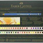 Faber-Castell 110060 Crayon de couleur Polychromos boîte métal de 60 pièces de la marque Faber-Castell image 1 produit