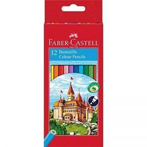 Faber-Castell 111212 Crayons de couleur Château étui de 12 pièces de la marque Faber-Castell image 0 produit