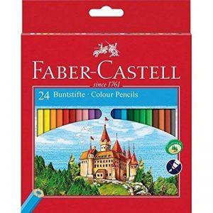Faber-Castell 111224 Crayons de couleur Château étui de 24 pièces de la marque Faber-Castell image 0 produit