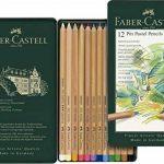 Faber-Castell 112112 Crayon PITT PASTEL boîte métal de 12 pièces de la marque Faber-Castell image 1 produit