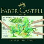 Faber-Castell 112160 Crayon PITT PASTEL boîte métal de 60 pièces de la marque Faber-Castell image 1 produit
