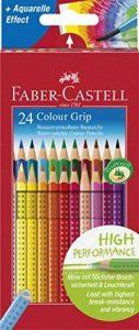 Faber-Castell 112412 - Crayons de couleur COLOUR GRIP étui de 24 pièces en carton de la marque Faber-Castell image 0 produit