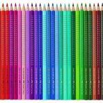 Faber-Castell 112435 Crayon de couleur COLOUR GRIP boîte métal de 36 de la marque Faber-Castell image 1 produit