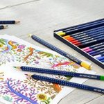 Faber-Castell 114212 Crayon ART GRIP AQUARELLE boîte métal de 12 de la marque Faber-Castell image 4 produit