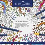 Faber-Castell 114224 Crayon ART GRIP AQUARELLE boîte métal de 24 de la marque Faber-Castell image 1 produit