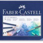 Faber-Castell 114236 Crayon ART GRIP AQUARELLE boîte métal de 36 de la marque Faber-Castell image 1 produit