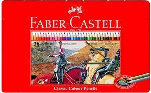 Faber-Castell 115846 Crayons de couleur hexagonal boite métal 36x de la marque Faber-Castell image 0 produit