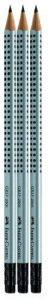 Faber Castell 117298 Lot de 3 crayons à papier GRIP 2001 HB avec gomme intégrée (Import Allemagne) de la marque Faber Castell image 0 produit