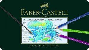 Faber-Castell 117511 Crayons de couleur Albrecht Dürer boîte métal de 120 de la marque Faber-Castell image 0 produit