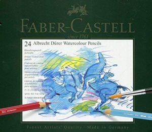 Faber-Castell 117524 Crayons de couleur Albrecht Dürer boîte métal de 24 de la marque Faber-Castell image 0 produit