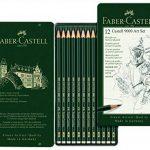 """Faber-Castell 119065 Set """"Art"""" de 12 crayons graphite CASTELL 9000 de la marque Faber-Castell image 1 produit"""