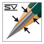 """Faber-Castell 119065 Set """"Art"""" de 12 crayons graphite CASTELL 9000 de la marque Faber-Castell image 3 produit"""