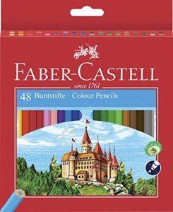 Faber-Castell 120148 CASTLE crayons de couleur hexagonal ECO, étui de 48 de la marque Faber-Castell image 0 produit