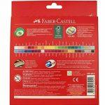 Faber-Castell 120148 CASTLE crayons de couleur hexagonal ECO, étui de 48 de la marque Faber-Castell image 3 produit