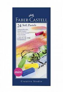 Faber-Castell 128224 Demi pastel carre tendre boîte de 24 de la marque Faber-Castell image 0 produit