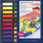Faber-Castell 128224 Demi pastel carre tendre boîte de 24 de la marque Faber-Castell image 1 produit