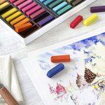 Faber-Castell 128224 Demi pastel carre tendre boîte de 24 de la marque Faber-Castell image 3 produit