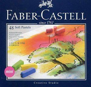 Faber-Castell 128248 Demi pastel carre tendre boîte de 48 de la marque Faber-Castell image 0 produit