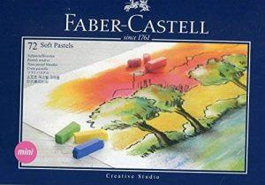 Faber-Castell 128272 Demi pastel carre tendre boîte de 72 de la marque Faber-Castell image 0 produit