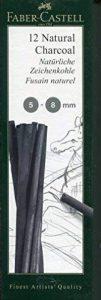 Faber-Castell 129298 Fusain naturel PITT 5-8mm blister de la marque Faber-Castell image 0 produit