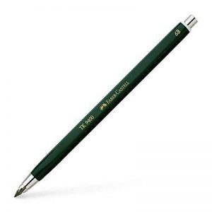 Faber-Castell 139406 Crayon graphite TK 9400, dureté: 6B longueur: 145 mm, diamètre de mines: 3,15 mm, crayon, corps hexagonal de la marque Faber-Castell image 0 produit