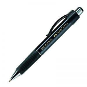 Faber-Castell 140733 Stylo bille GRIP PLUS BALL M (Noir métallisé) de la marque Faber-Castell image 0 produit