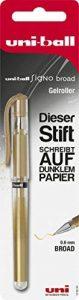 Faber-Castell 146894 Signo Stylo roller Uni-Ball UM-153, pointe: 0,6mm Doré de la marque Faber-Castell image 0 produit