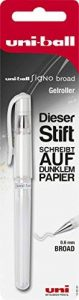 Faber-Castell 146895 Signo Stylo roller Uni-Ball UM-153, pointe: 0,6mm Blanc de la marque Faber-Castell image 0 produit