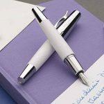 Faber-Castell 148590 Stylo plume e-motion, Losange blanc M de la marque Faber-Castell image 3 produit