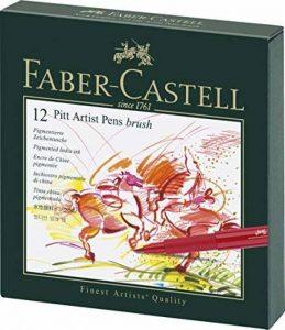 Faber-Castell 167146 Feutre PITT artist pen studio box de 12 de la marque Faber-Castell image 0 produit