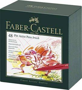 Faber-Castell 167148 Feutre PITT artist pen studio box de 48 de la marque Faber-Castell image 0 produit