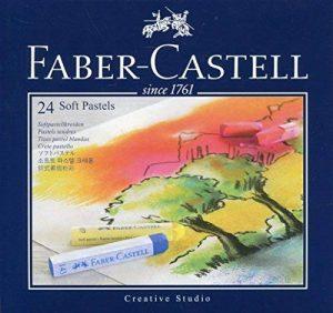 FABER CASTELL 21203 Pastel Carré Tendre Goldfaber Studio 66mm Brillant Intense Résistance Lumière Lot de 24 Rose de la marque image 0 produit