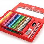 FABER-CASTELL Boîte de 48 Crayons aquarellables - Coloris assortis de la marque marque+inconnue image 1 produit