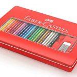 FABER-CASTELL Boîte de 48 Crayons aquarellables - Coloris assortis de la marque marque+inconnue image 2 produit