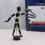 """FABER-CASTELL Kit """"Manga"""" PITT Artist débutant 8 pieces Stylo/Crayon/Modèle/Bloc de la marque Faber-Castell image 4 produit"""