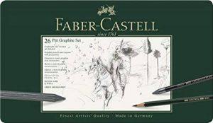 Faber Castell Pitt Graphite crayon (Lot de 26) de la marque Faber-Castell image 0 produit