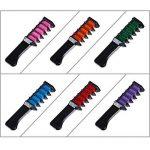Faburo 6PCS Craie de Couleur de Cheveux instantanée à usage unique Peignes Applicateurs De Craie + Gants rejetables + tour de cou de la marque Faburo image 3 produit
